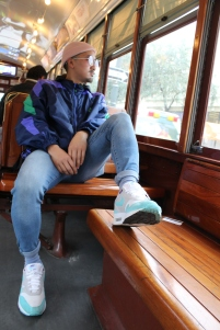 Way too cool for the Tram